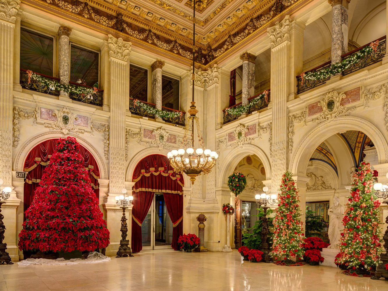 Newport Mansions Christmas Tours and Holiday Events
