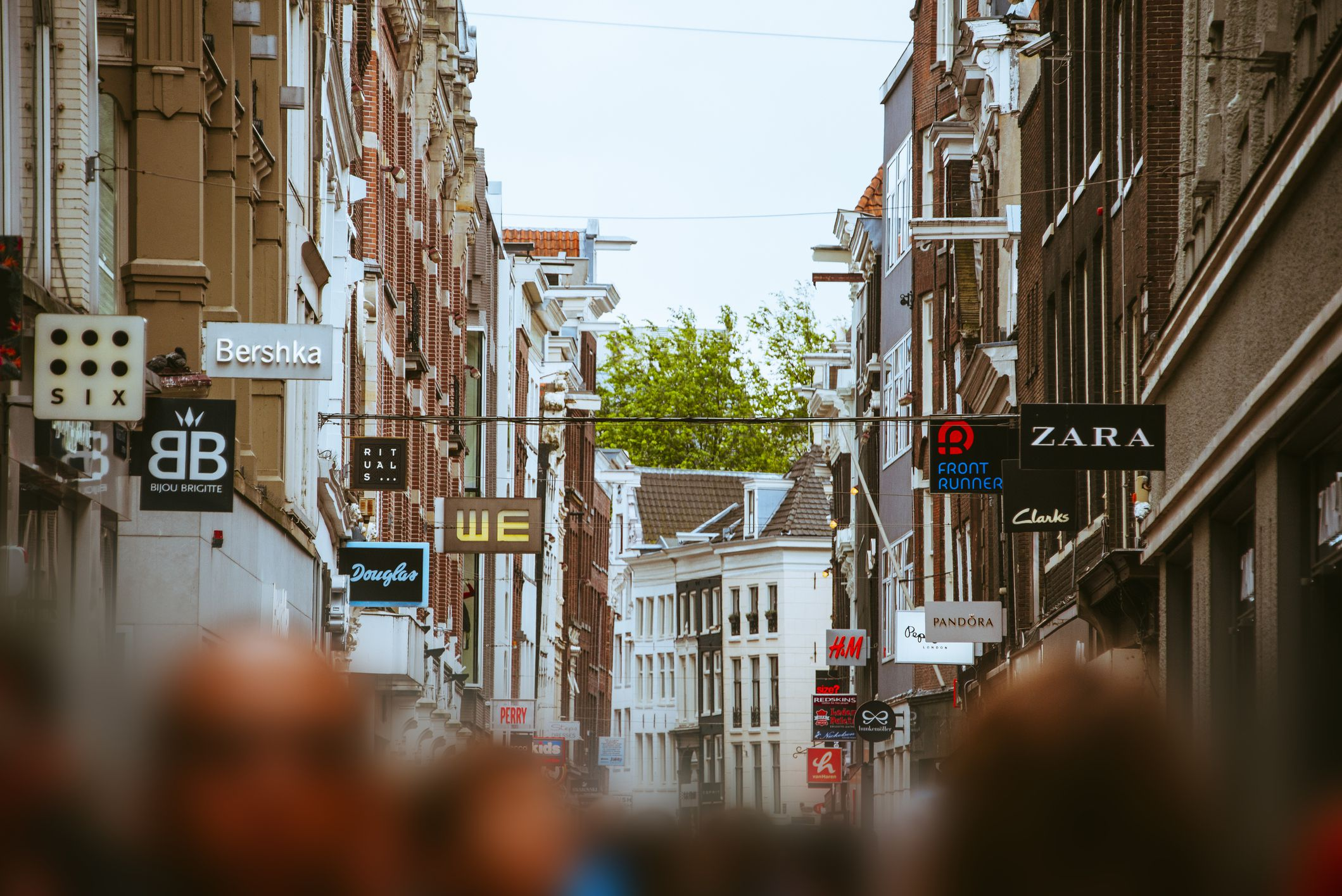 Shopping the Winter and Summer Sales in Amsterdam