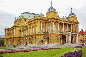 National Theatre in Zagreb