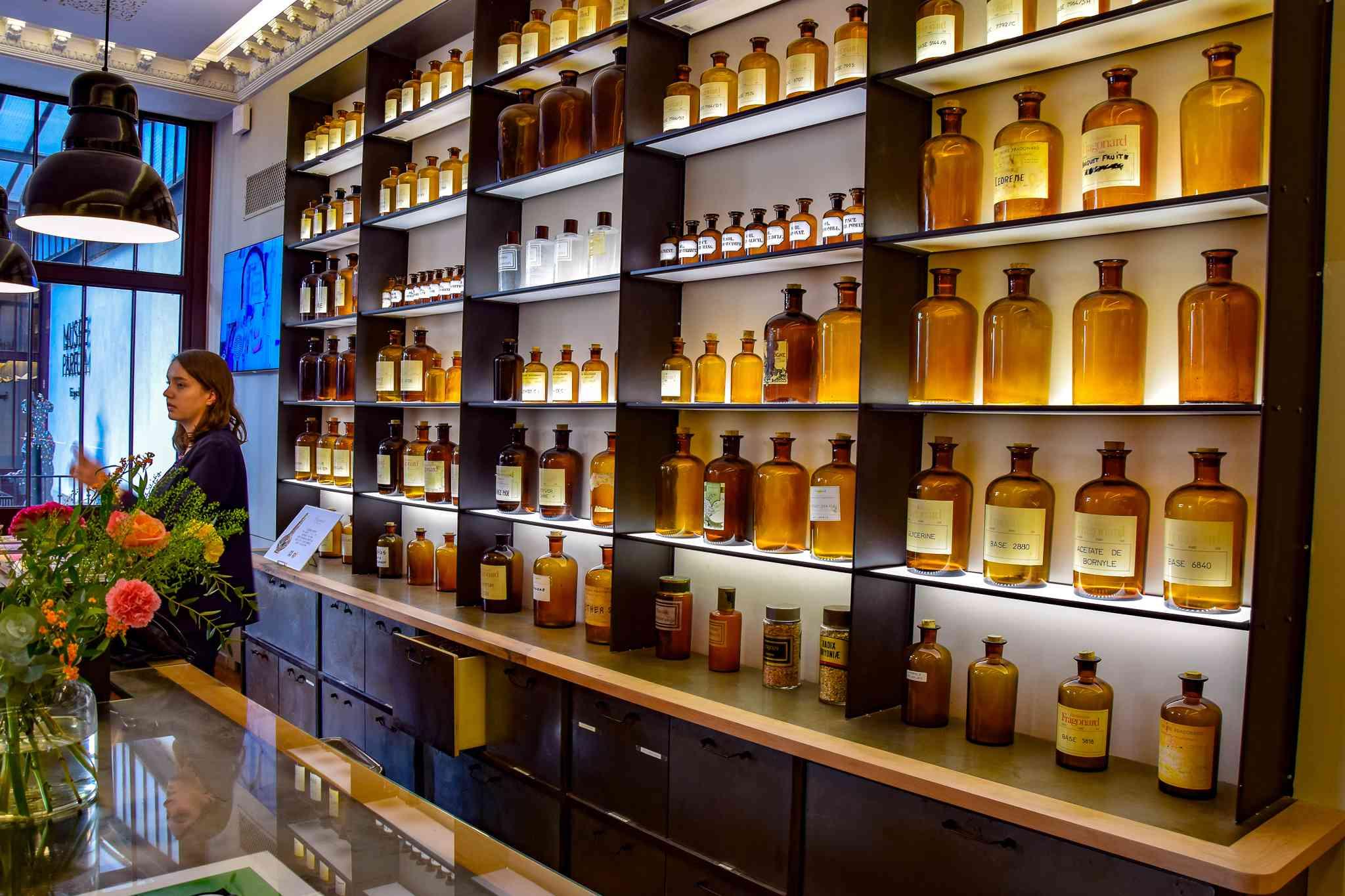 Fragonard Perfume Museum in Paris, France