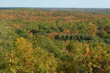 October view from Bradbury Mountain in Maine