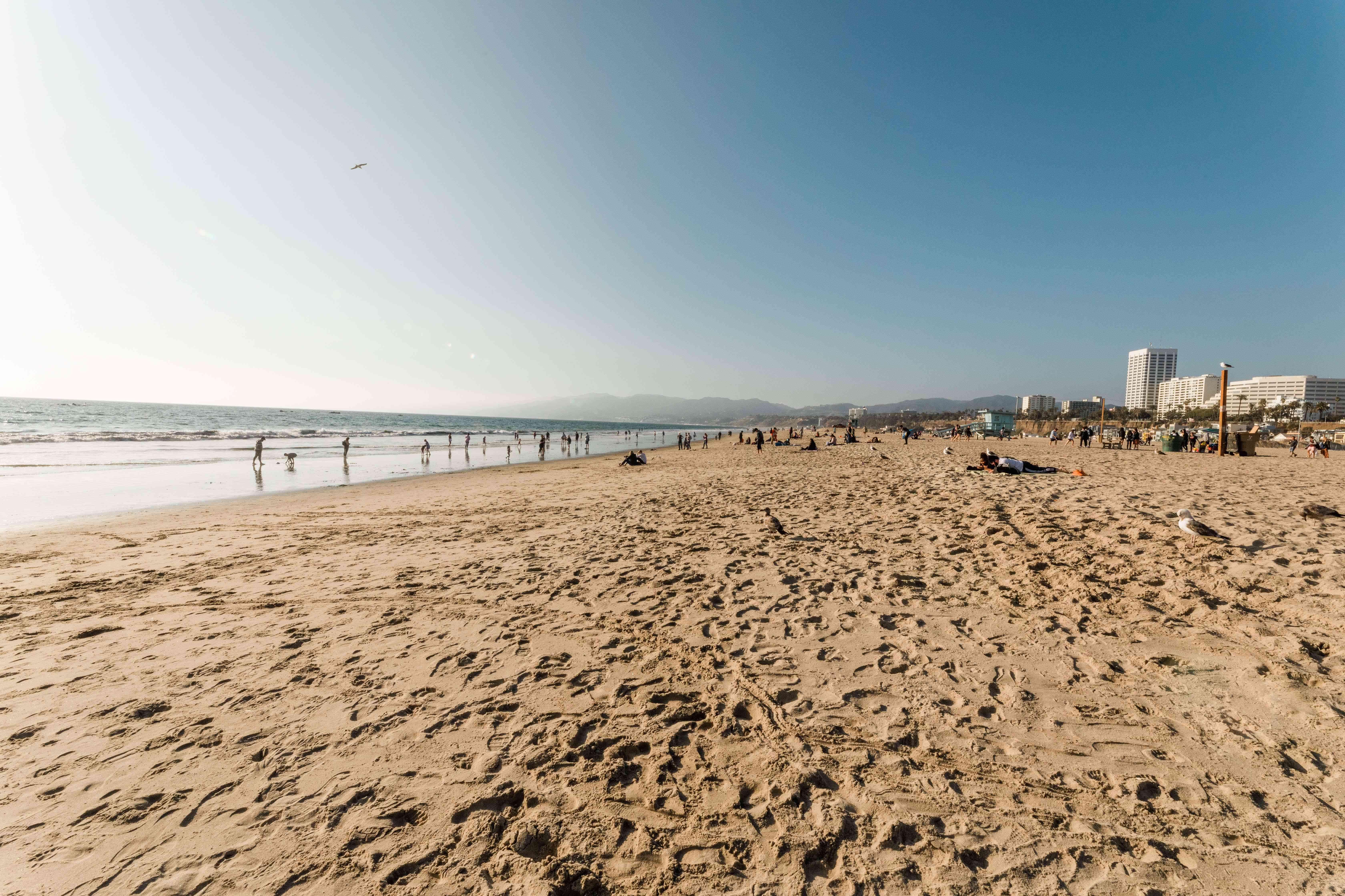 Santa Monica Beach in LA
