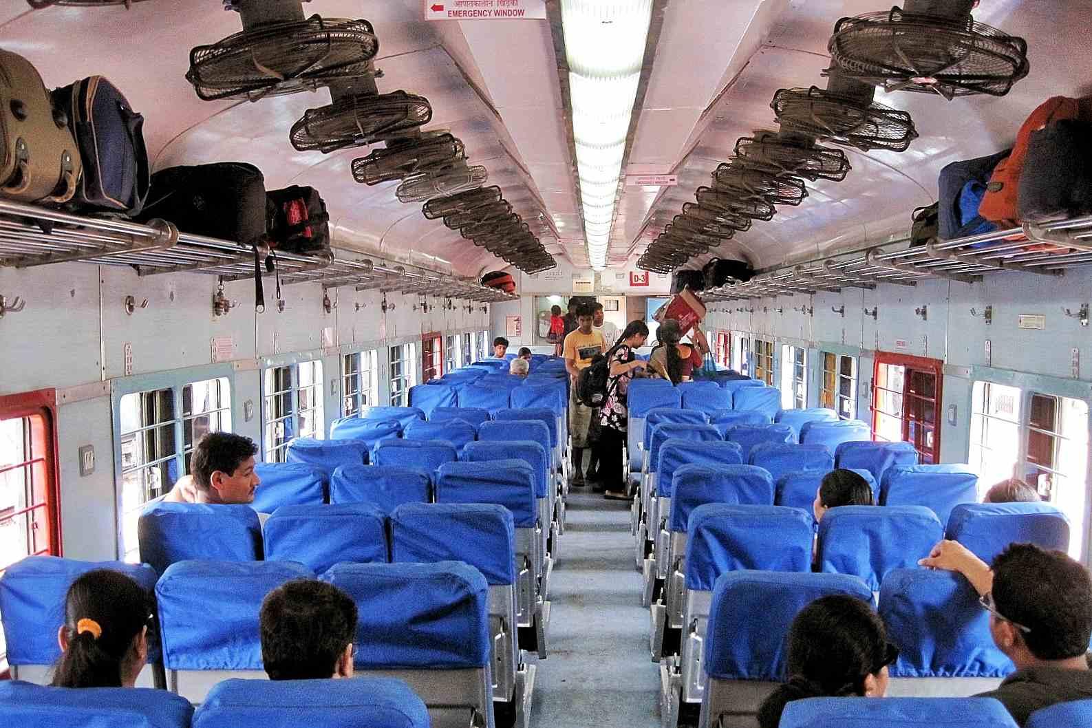 Mumbai to Goa Jan Shatabdi 2S.
