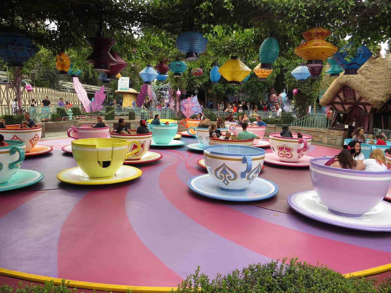 fantasy land tea cups