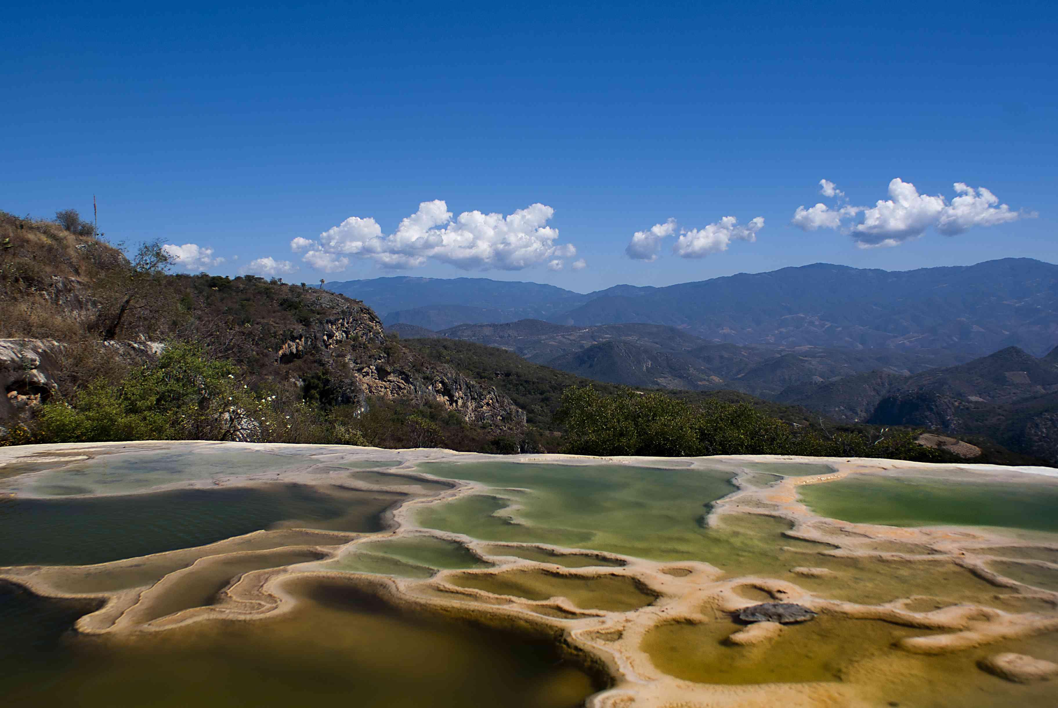 Hierve el Agua, Oaxaca, Mexico.