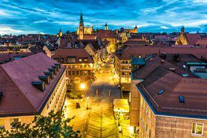 Nuremberg at night