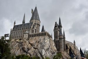 View of Harry Potter World