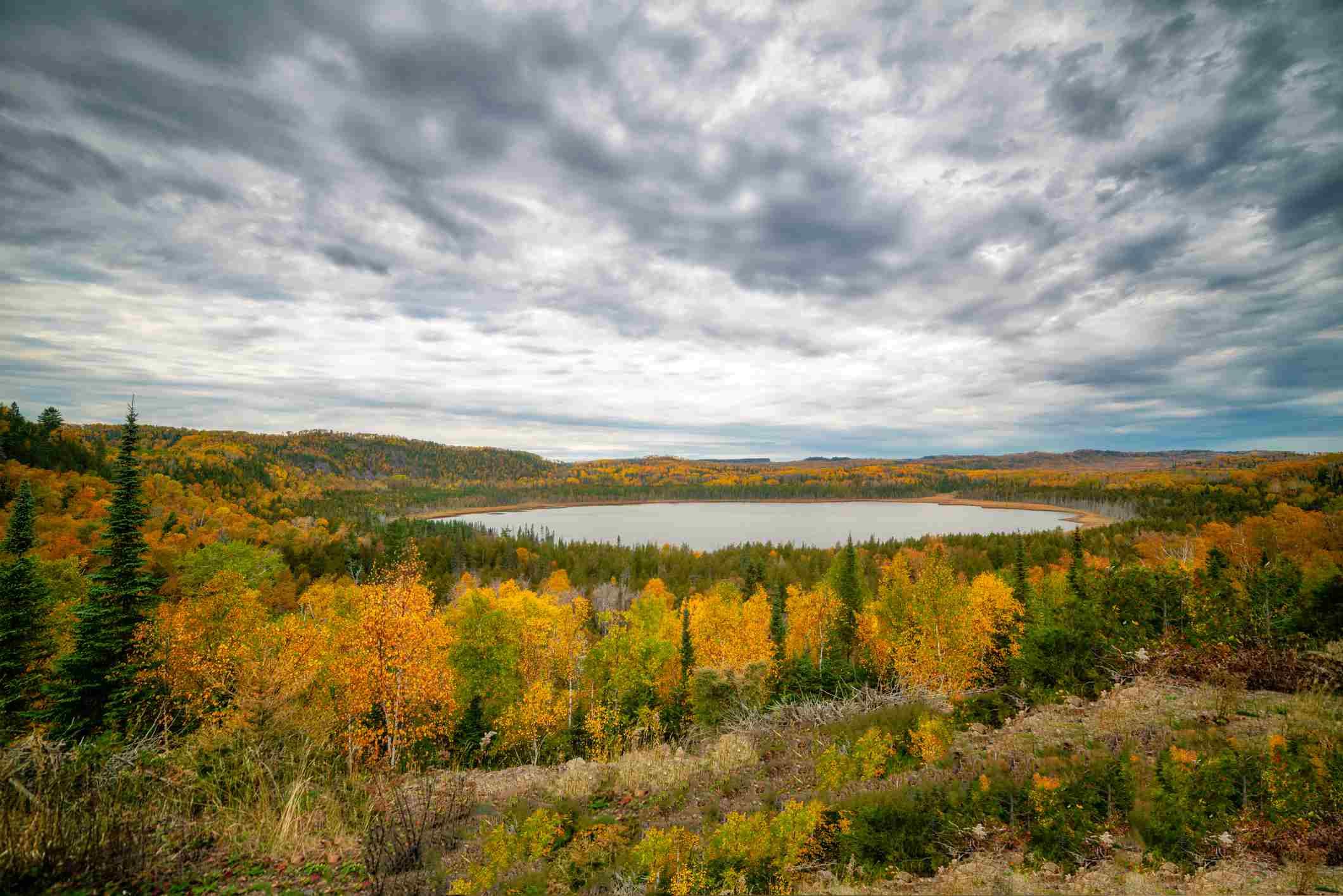 Teal Lake, Grand Portage Minnesota