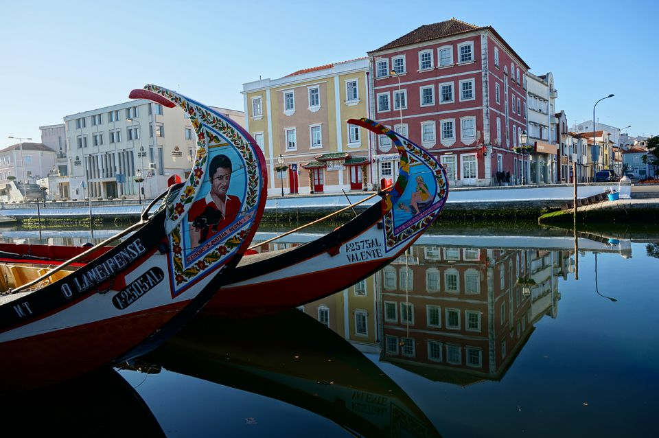 Canals in Aveiro, Portugal's Venice