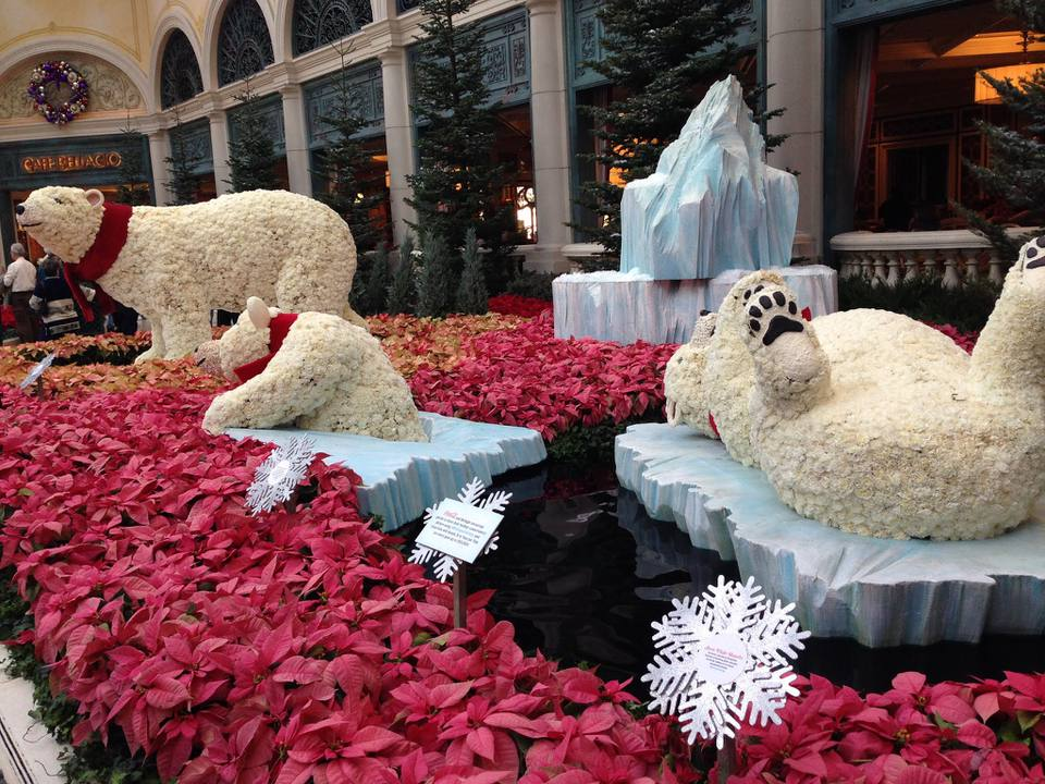 Christmas In Las Vegas Weather Decorations And Events