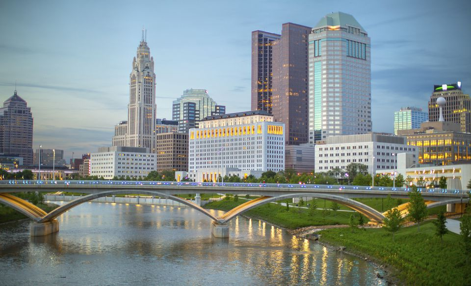 Columbus Skyline In Daylight