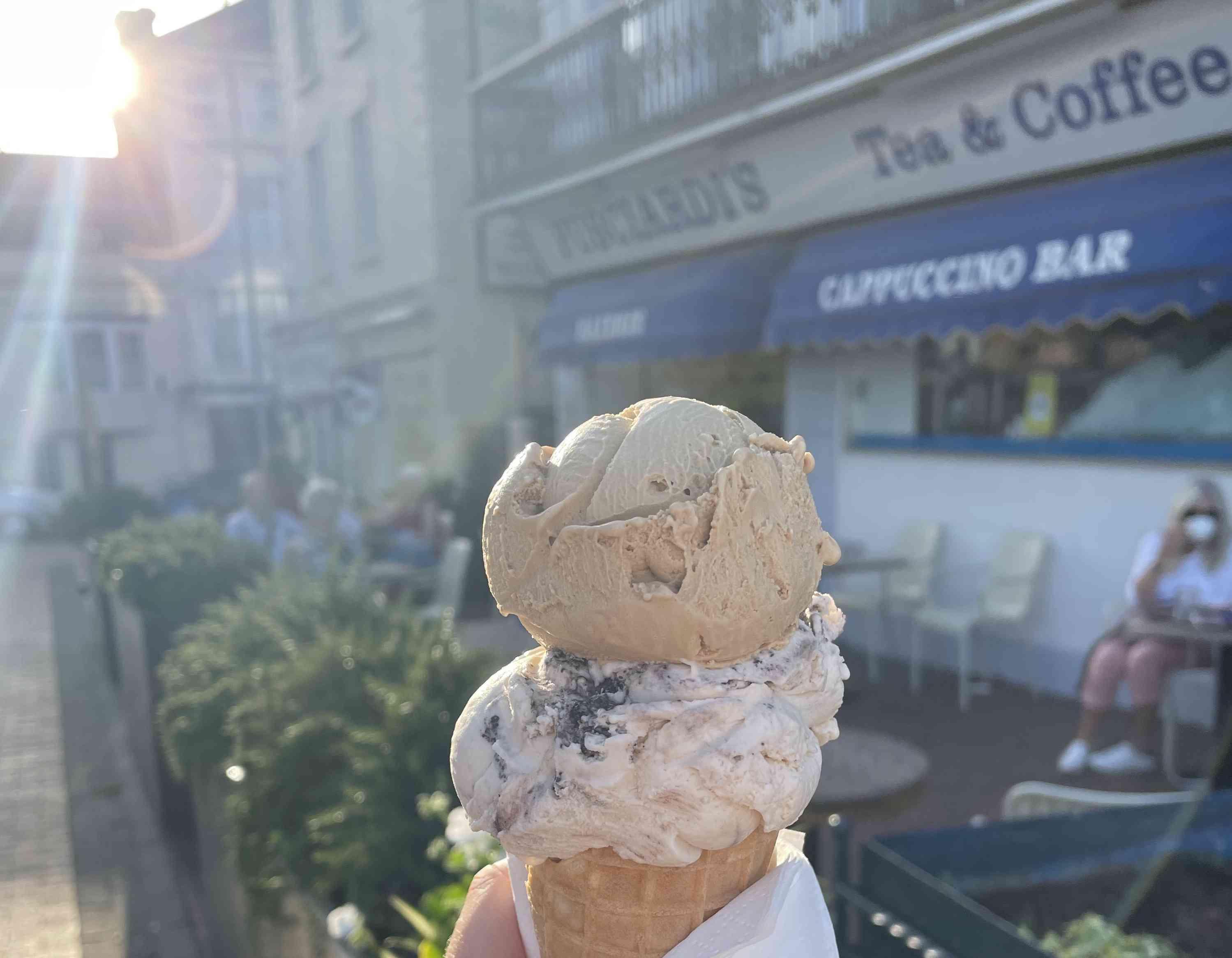 Fusciardi's Ice Cream Parlor in Eastbourne