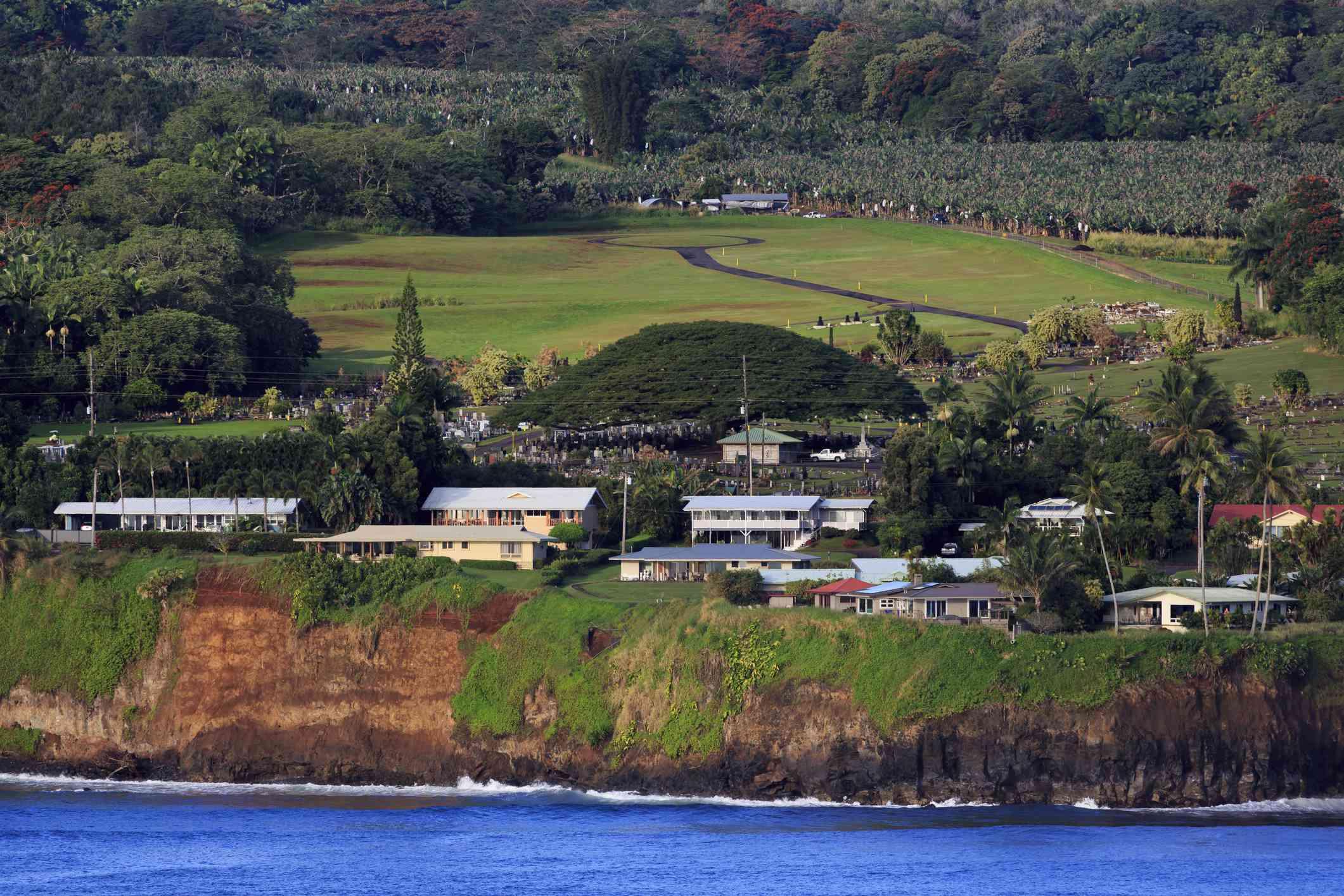 Hilo Town on the Big Island