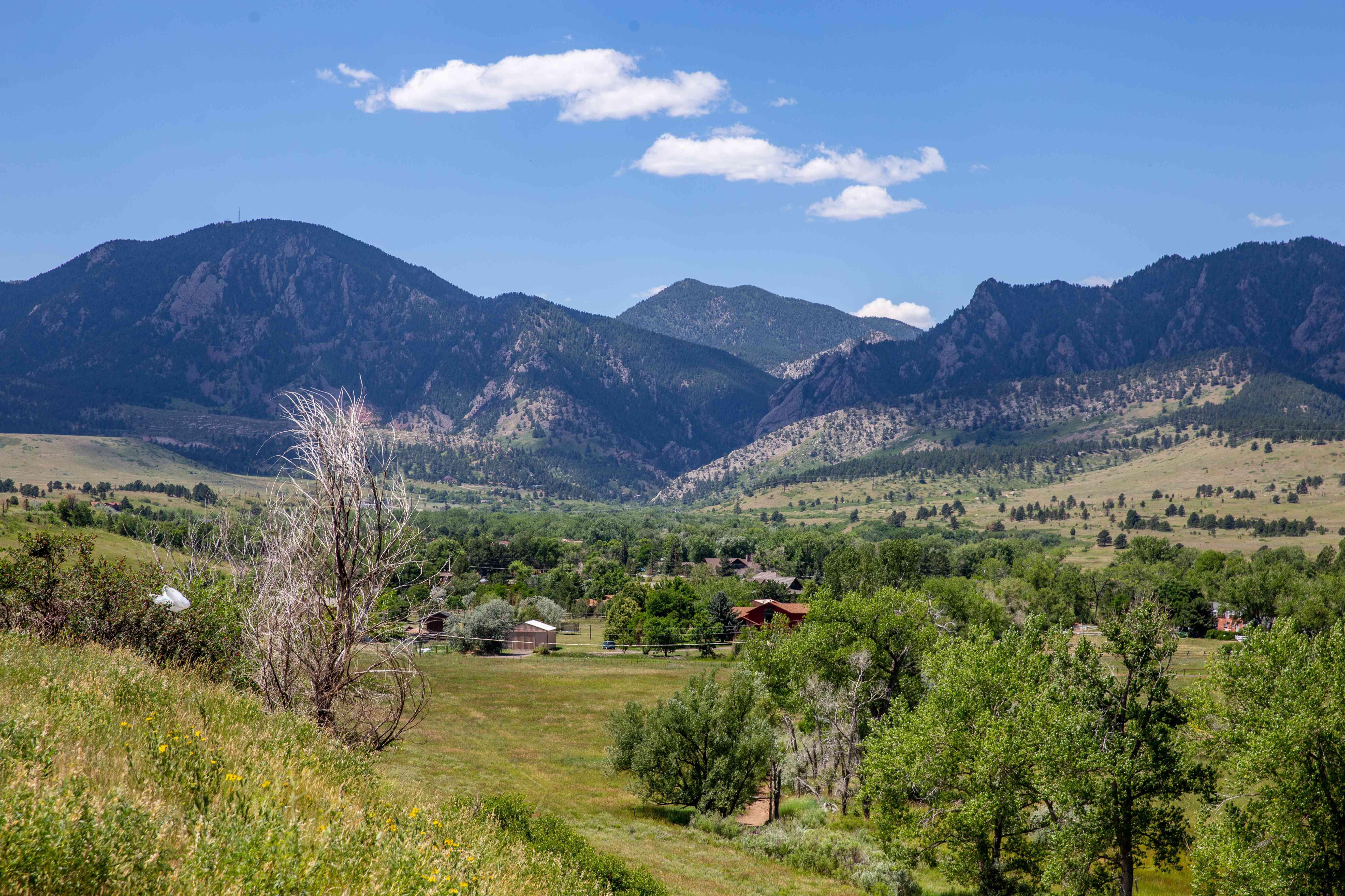 Flatiron Mountains of Boulder, Colorado