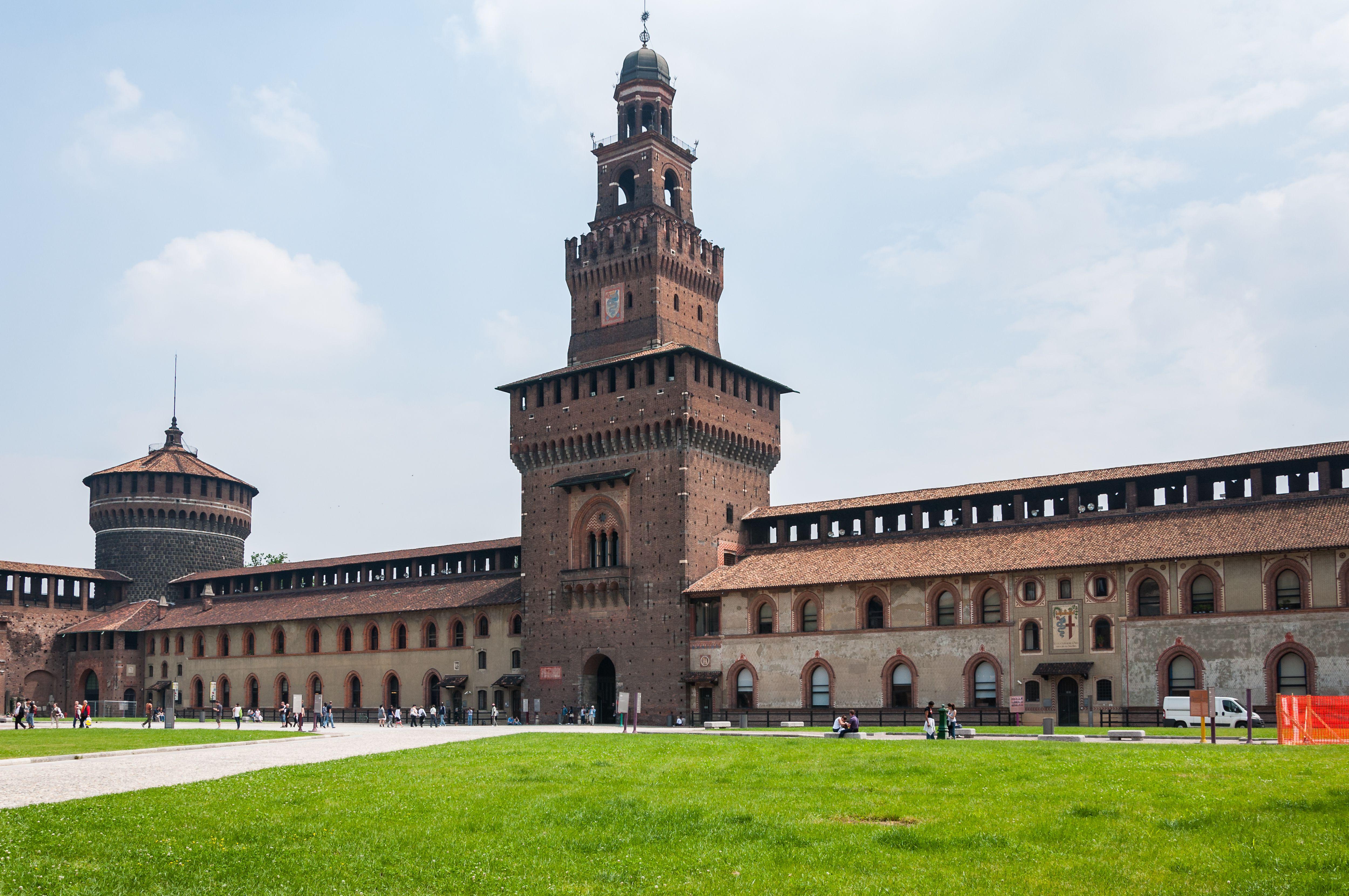 Castello Sfozesco in Milan