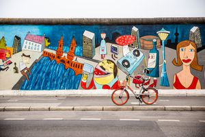 A mural wall in Kreuzberg