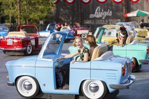Riding Luigi's Rockin' Roadsters