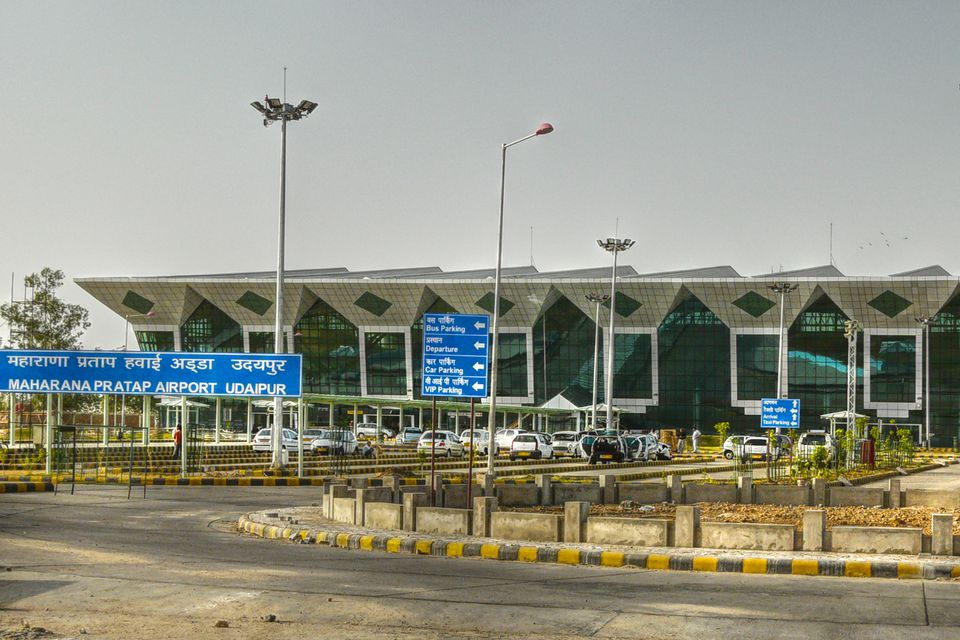 Udaipur Airport.