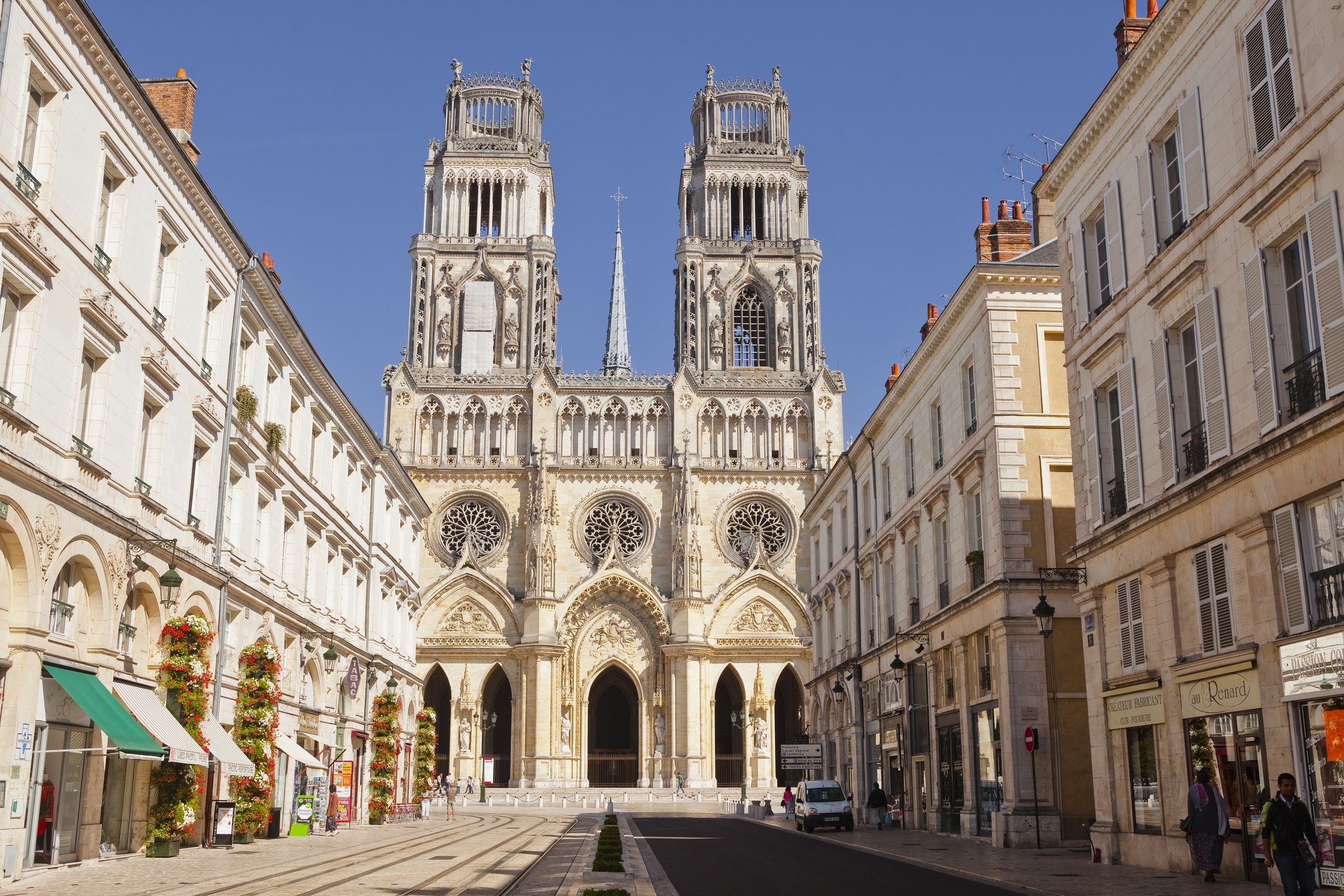 The Cathedrale Sainte Croix dOrleans (Cathedral of Orleans), Orleans, Loiret, France, Europe