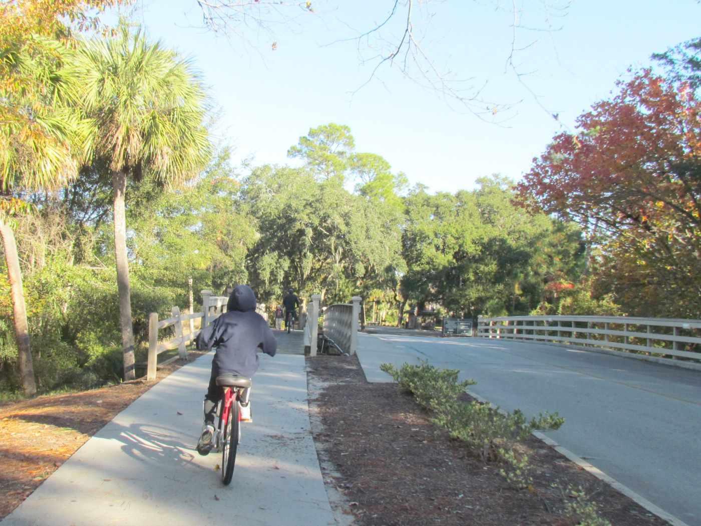 Bike paths at Palmetto Dunes Oceanfront Resort