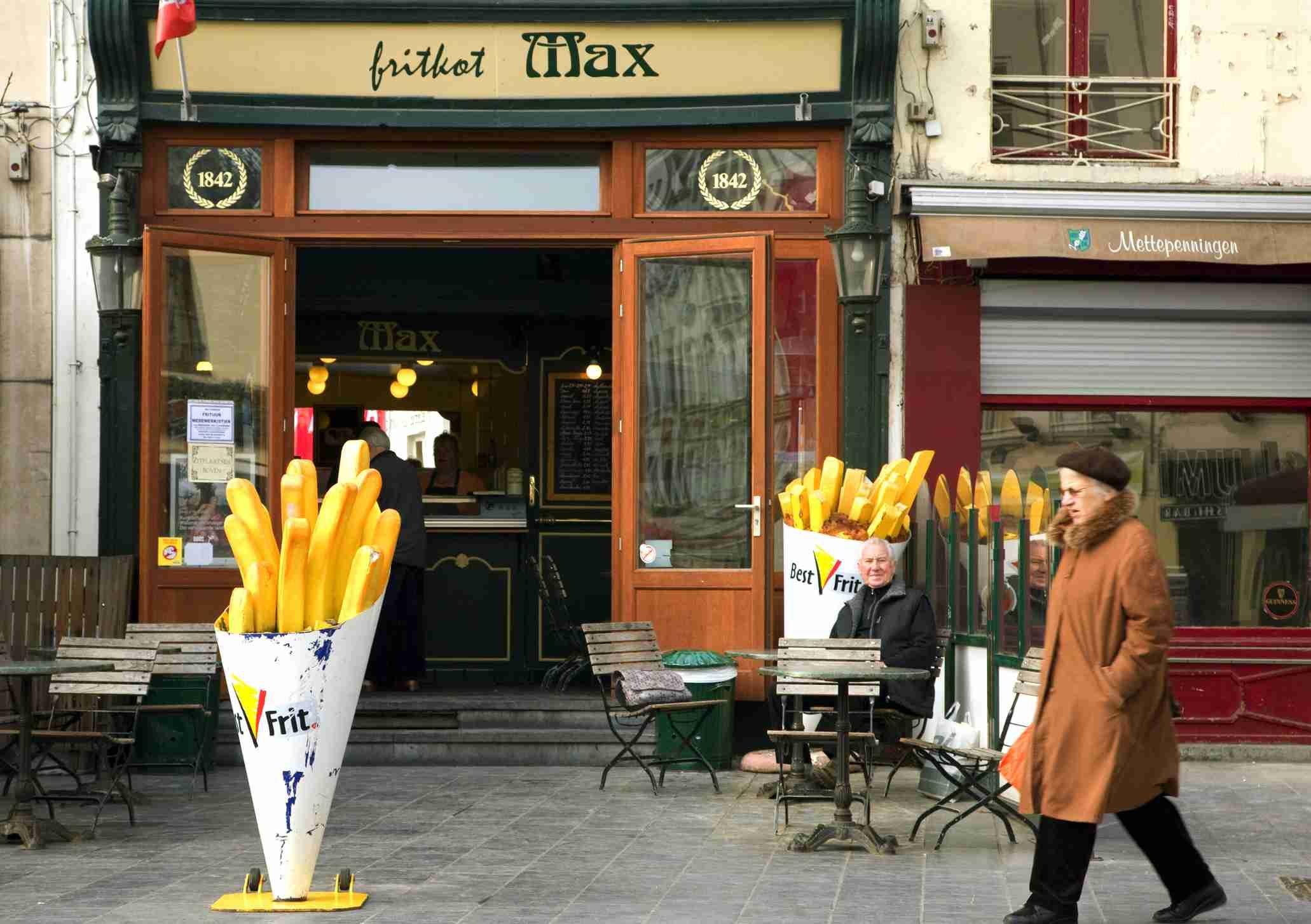 Friterie in Belgium