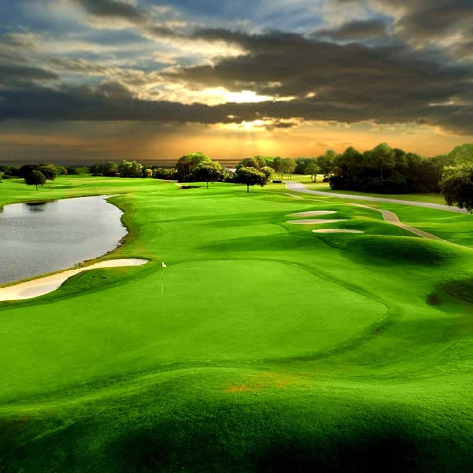 A course at Emerald Bay Golf Club