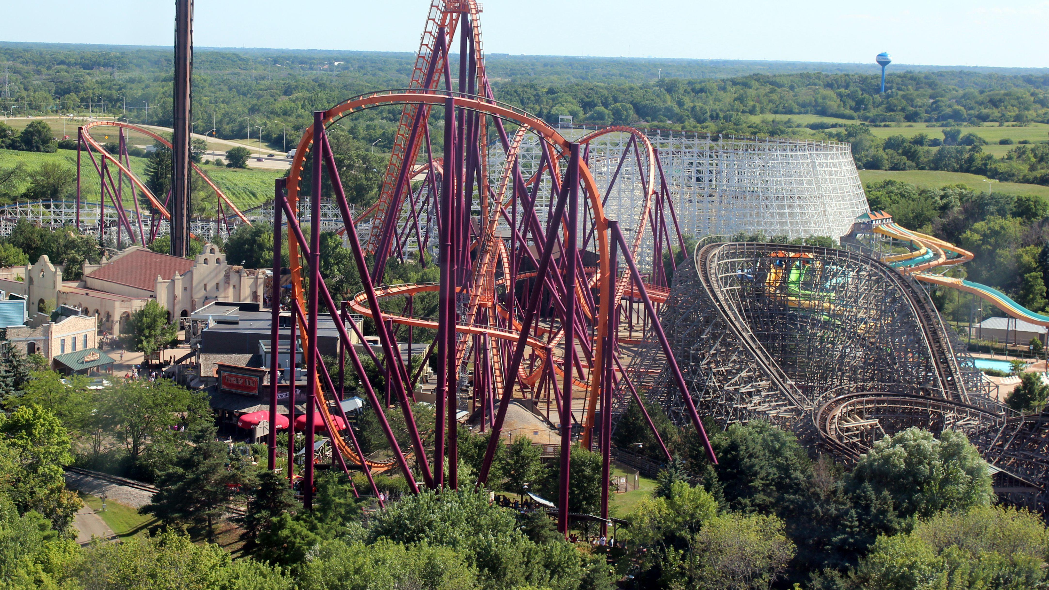 Six Flags Magic Mountain Exclusive Coaster X2 Drop Pin New