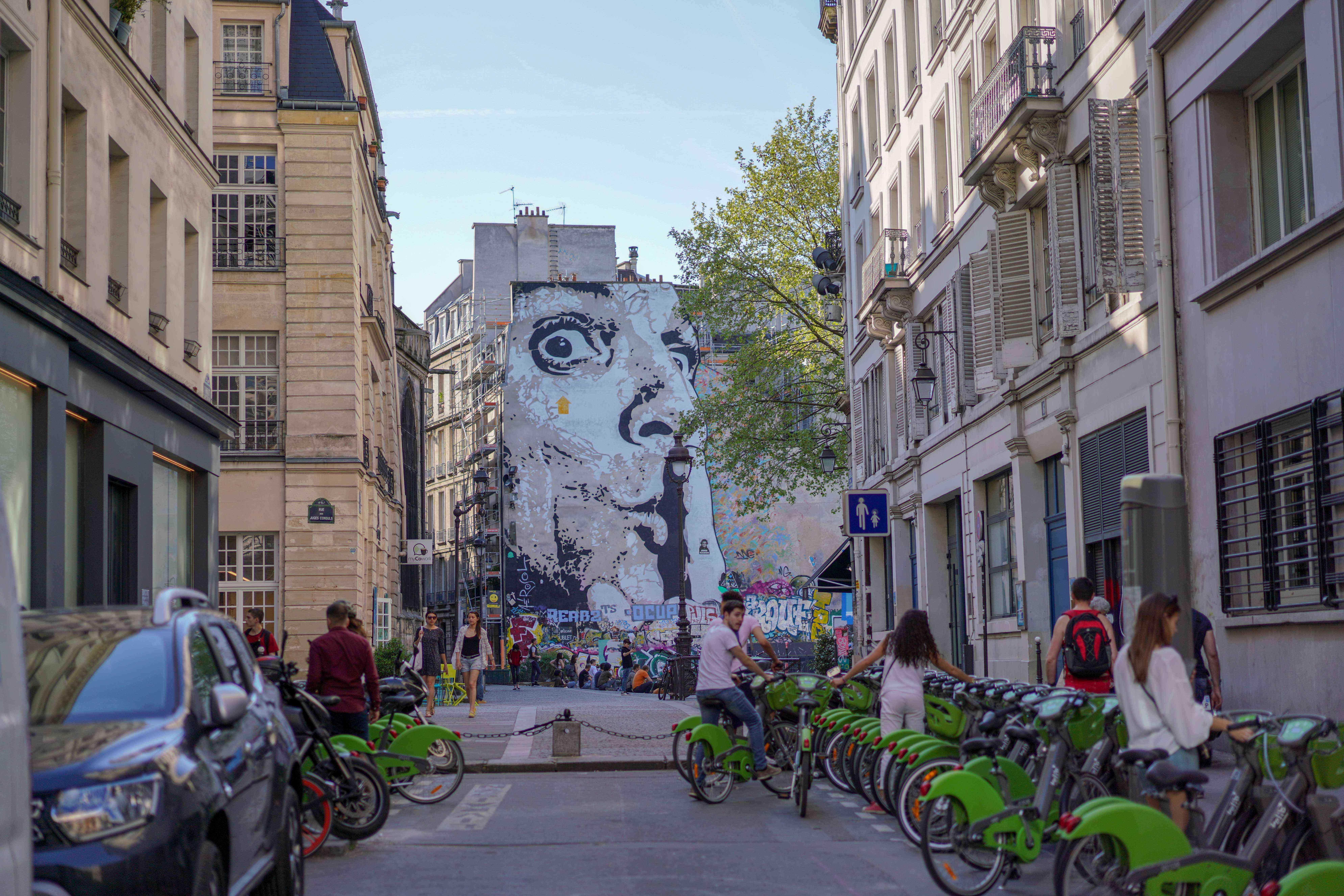 Paris Street Graffiti 2018