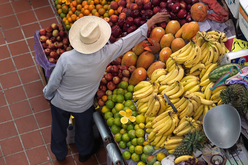 Mexico fruit stand
