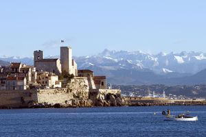 The Ramparts around the Old Town of Antibes