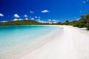 Playa Tortuga (Turtle Beach) on Isla Culebrita, Puerto Rico