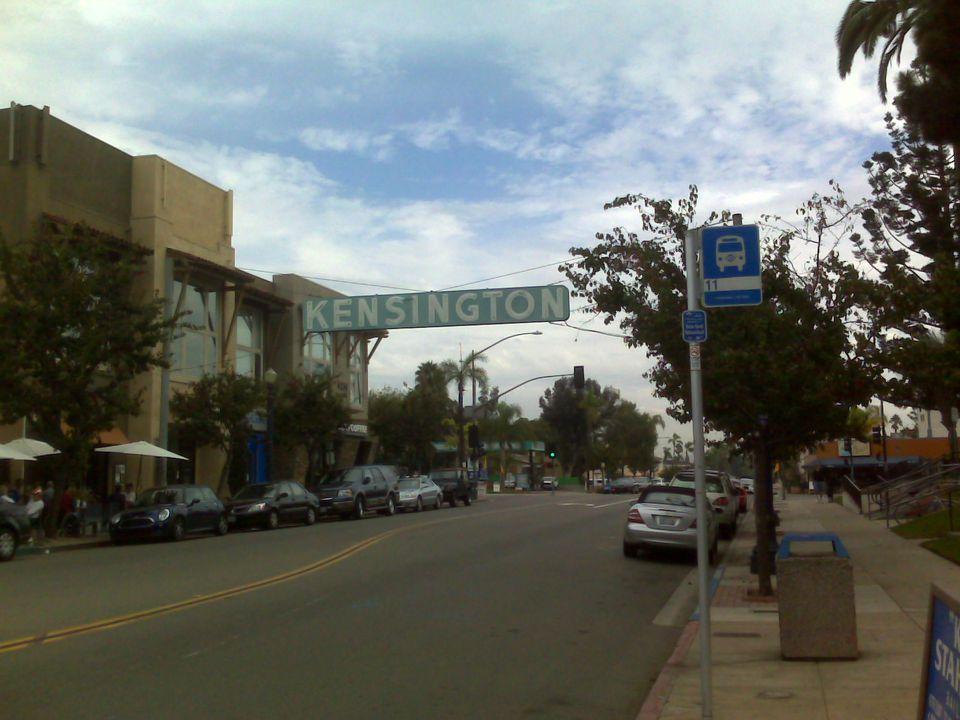 Kensington Neighborhood in San Diego