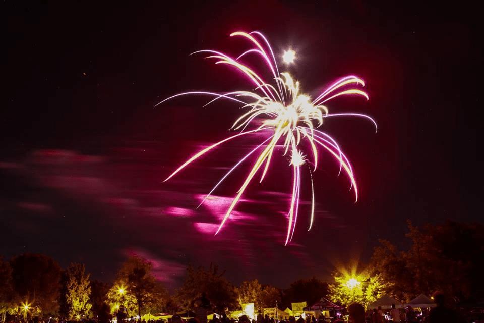 Elk Grove Fireworks show in 2017