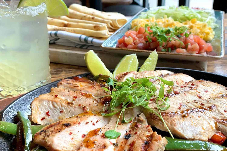 Delicious food at Loco Taqueria & Oyster Bar in Boston
