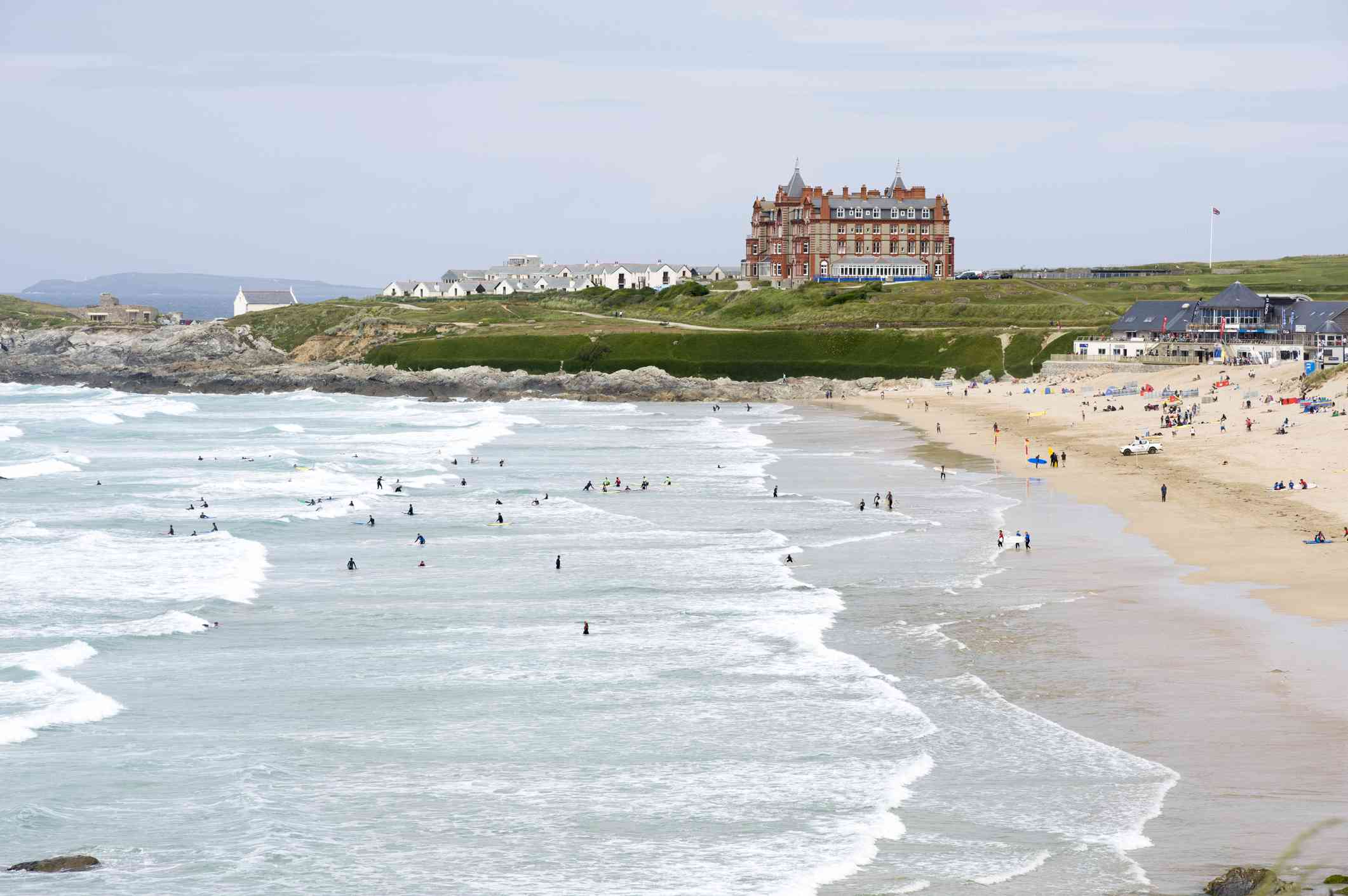 Fistral Beach, Newquay in Cornwall