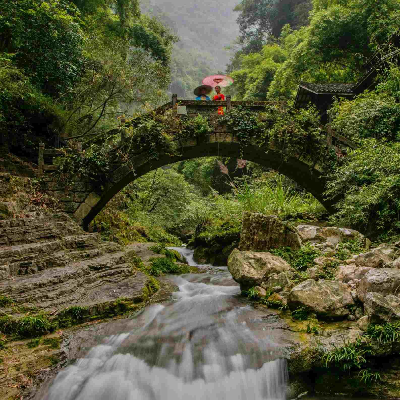 Bridge over the Yangtze River in China