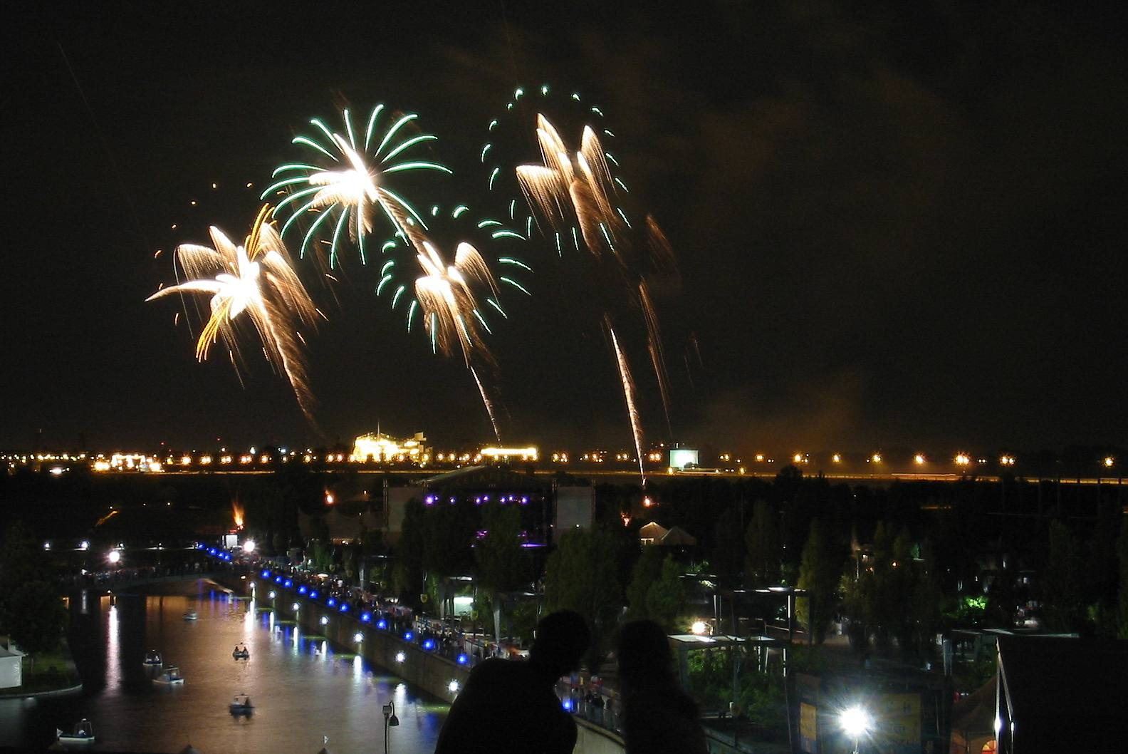 The International Fireworks Competition.