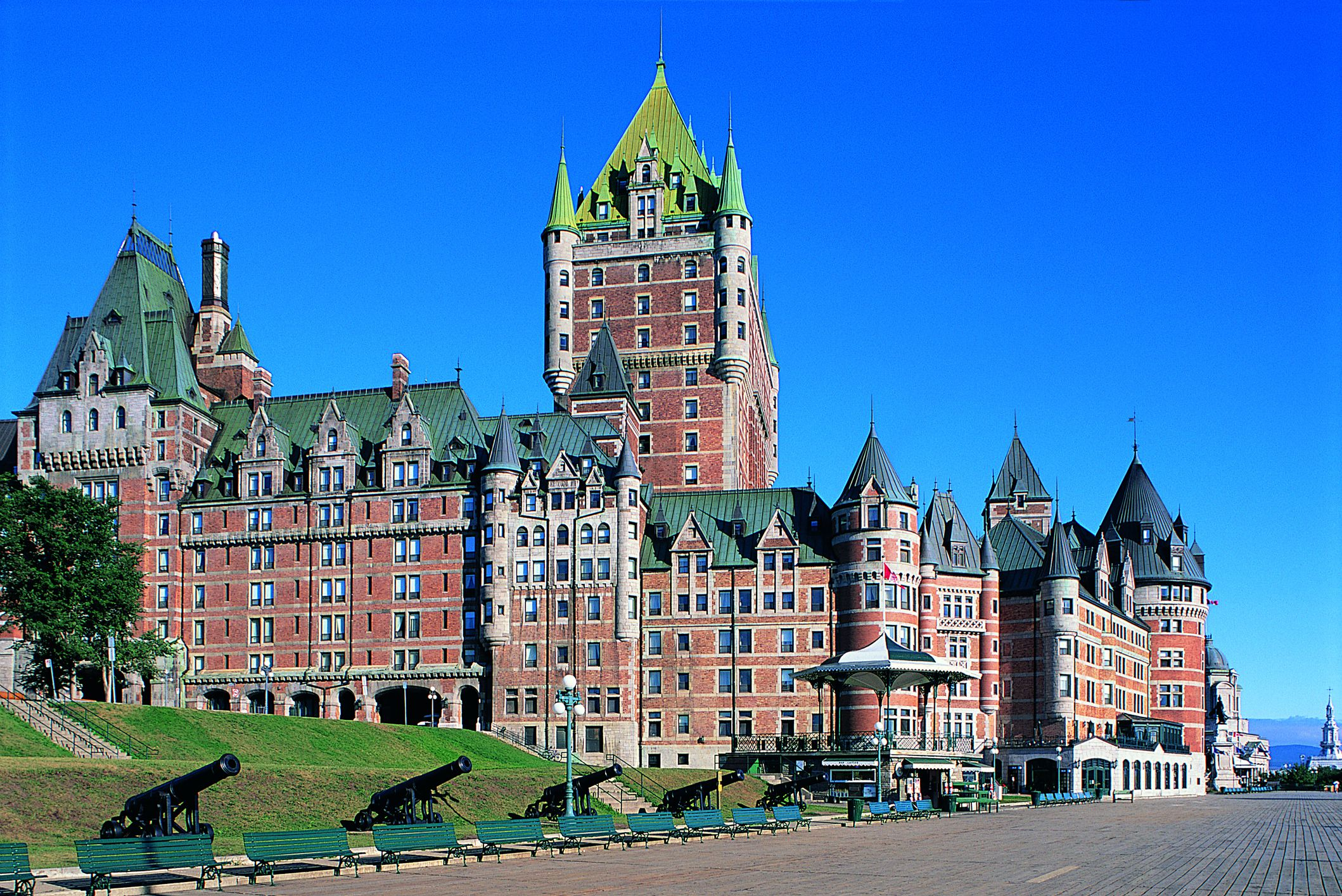 Chateau Frontenac, Quebec, Canadá