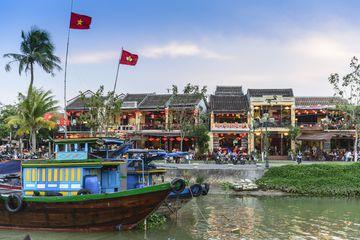 Hoi An at sunset, Vietnam