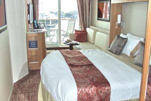 Celebrity Solstice Deluxe Ocean View Cabin with Veranda