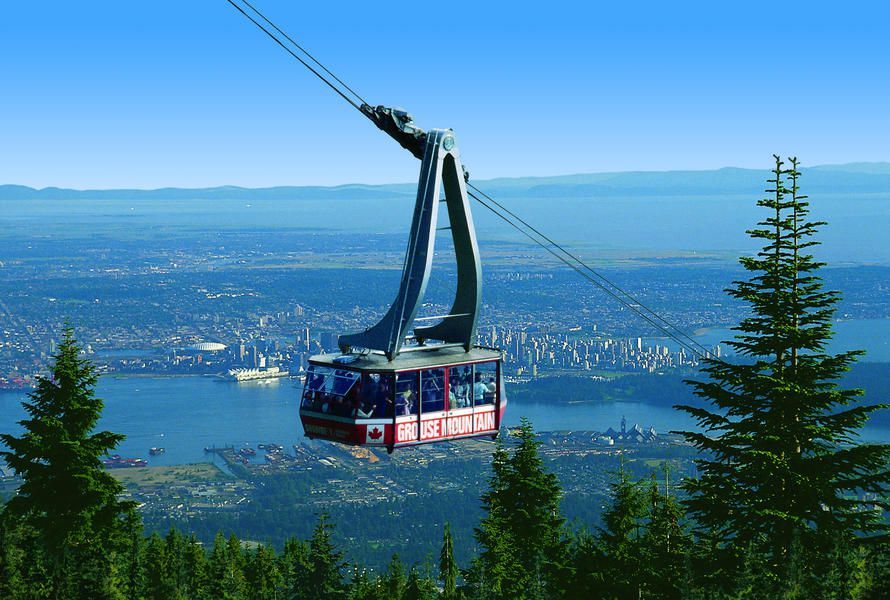 Vancouver Day Trips: Grouse Mountain