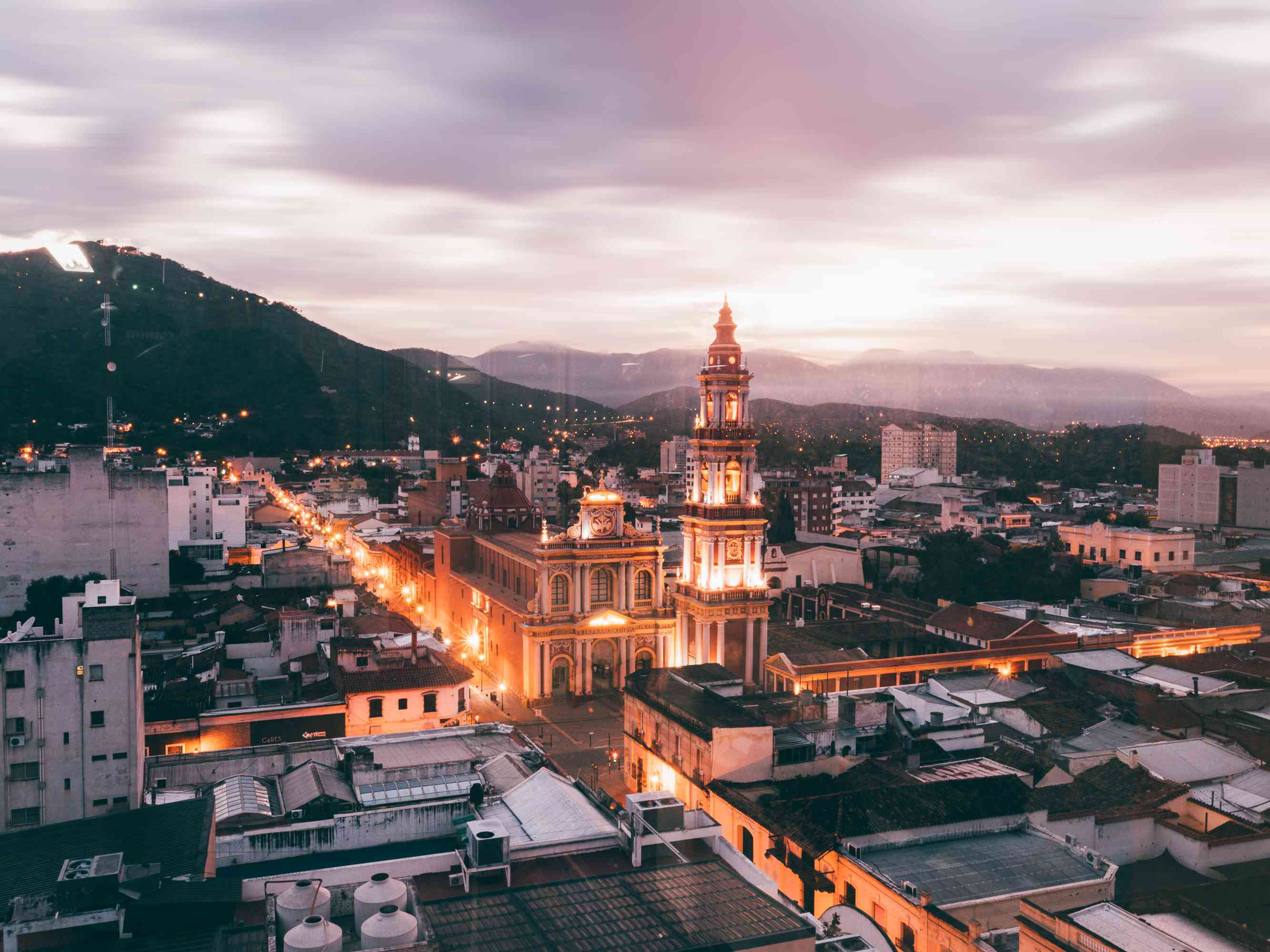 Cityscape of Salta