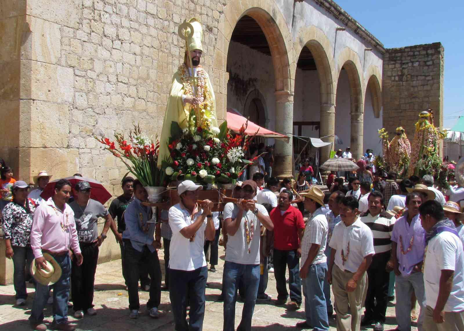 Easter celebration in Oaxaca, Mexico