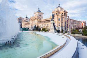 Valladolid in winter