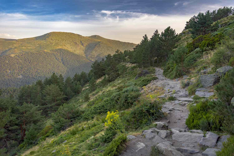 Sierra de Guadarrama mountains, Madrid, Spain