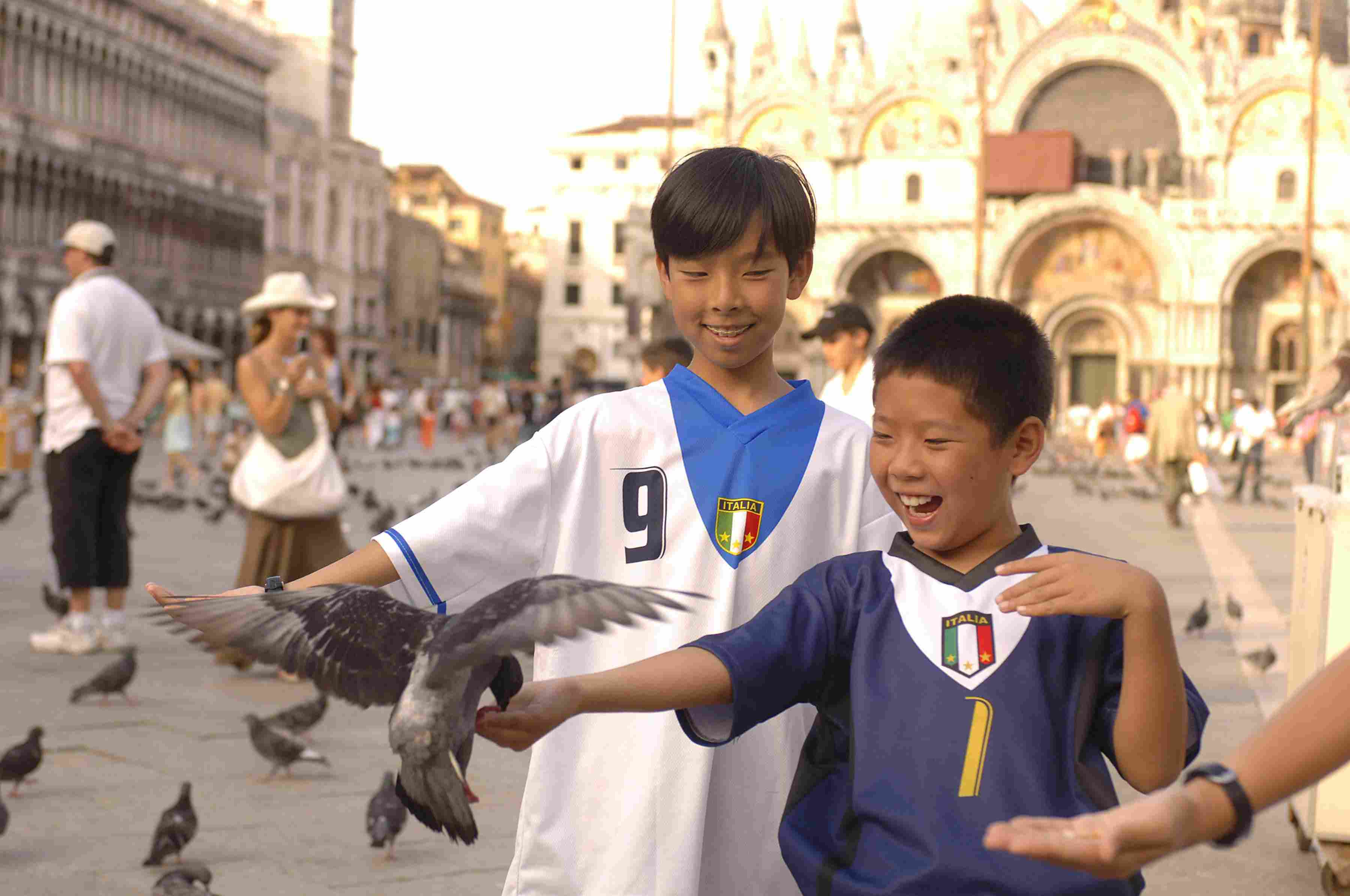 Kids in Venice on Adventures By Disney family vacation