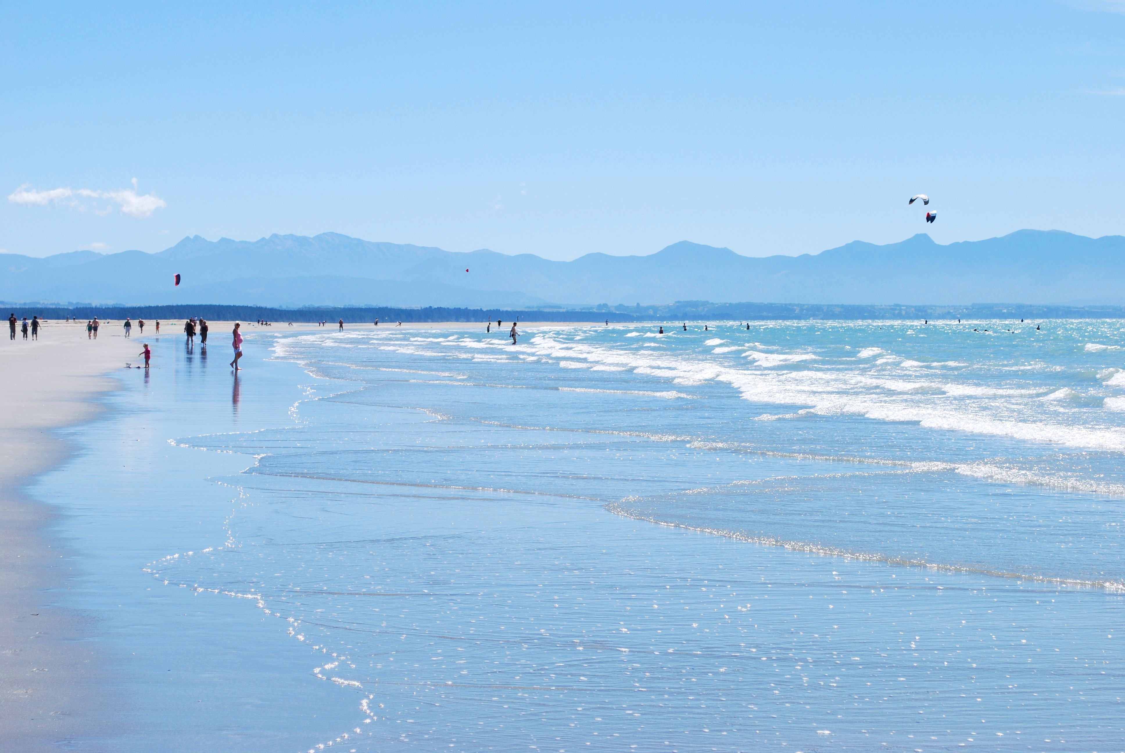Day at the Beach - Tahunanui, Nelson, NZ