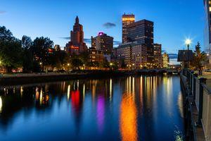Providence at Night