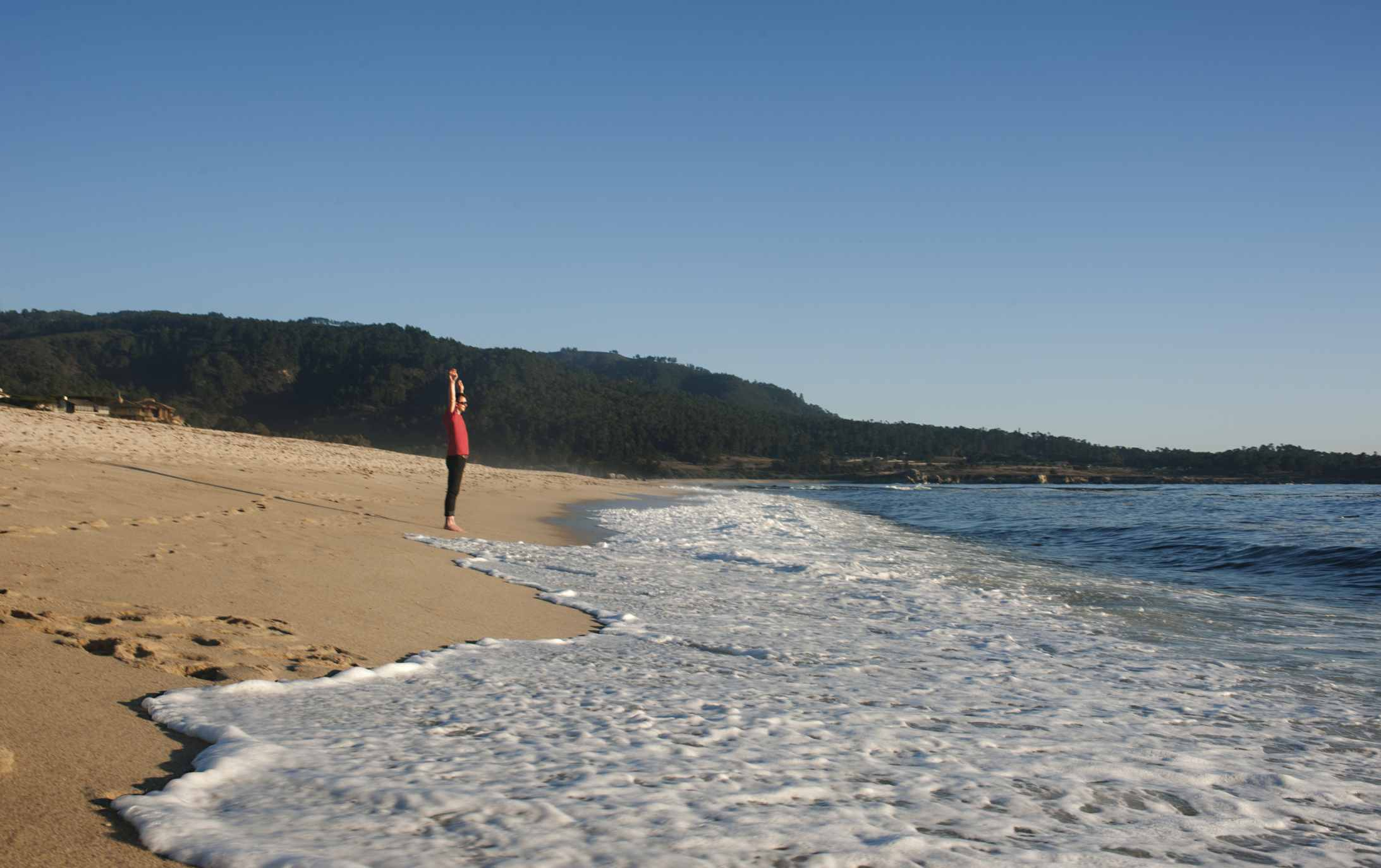 Afternoon at Carmel River State Beach