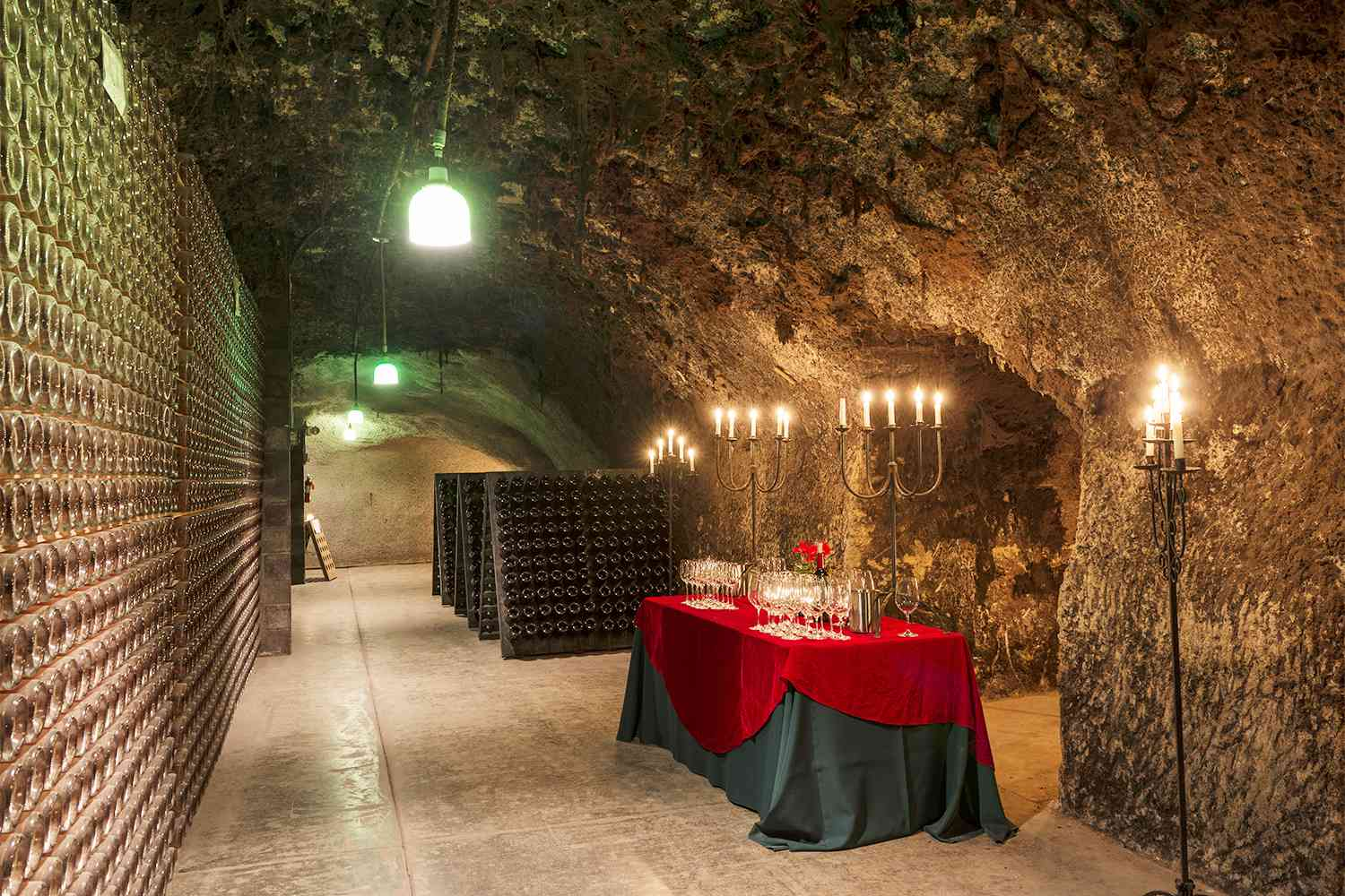Sparkling Wine Tasting in the Caves at Schramsberg